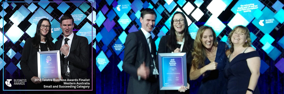Telstra Business Awards 2018